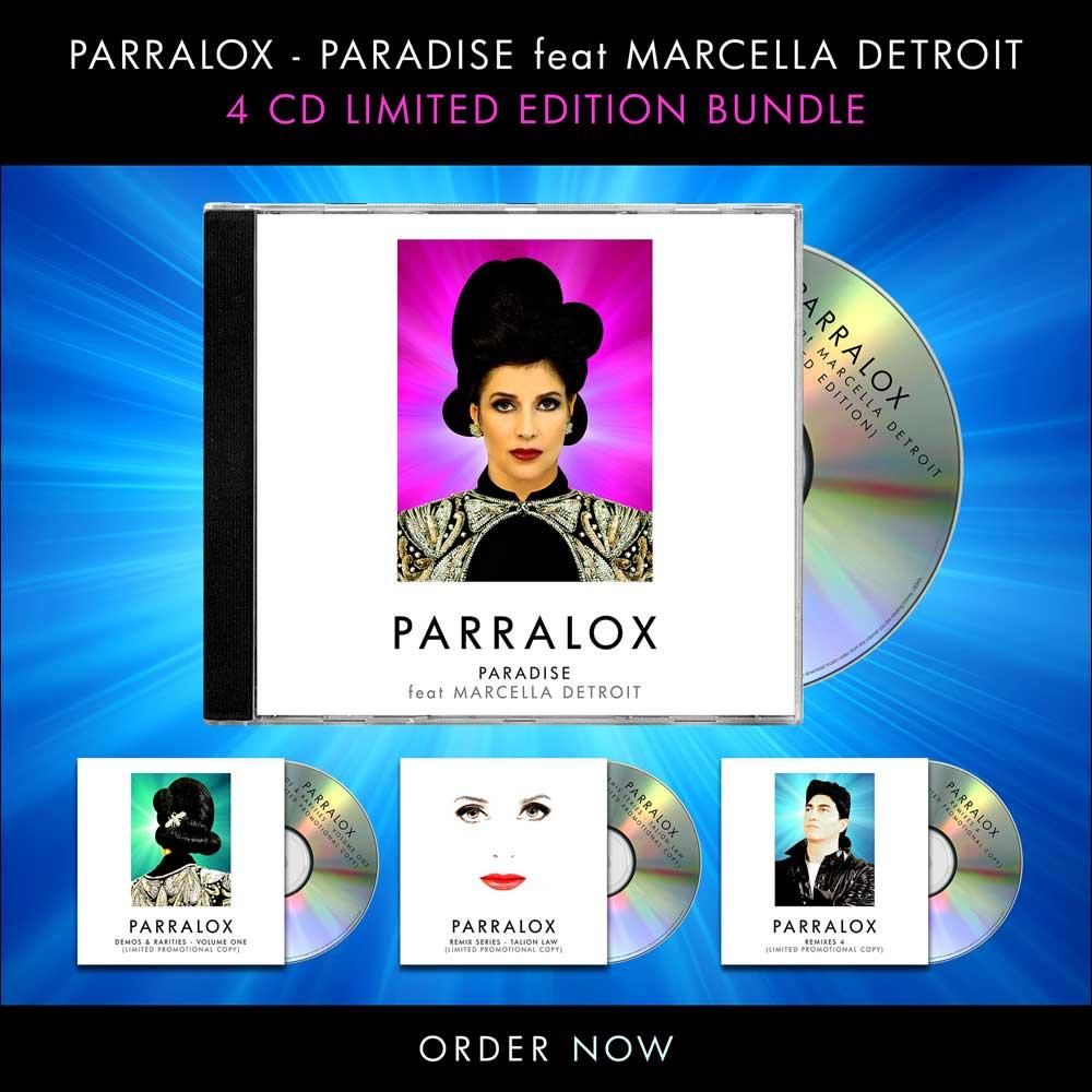 Click here to pre order Parralox - Paradise feat Marcella Detroit