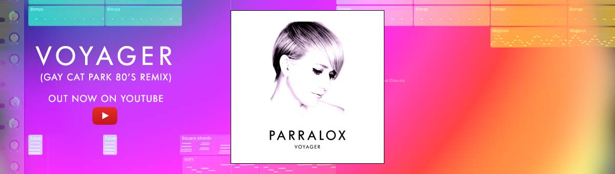 Parralox - Voyager (Gay Cat Park 80s Remix) on YouTube