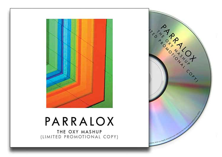 CD Paper Case - Parralox - The OXY Mashup